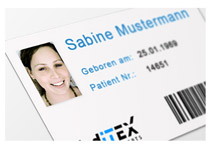 MedITEX RFID Patient card